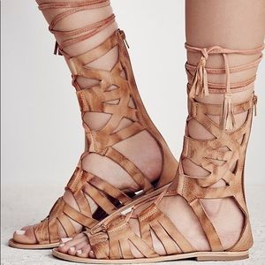 "FREE PEOPLE ""Mesa Verde"" Tall Gladiator Sandal"